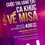 Sáng tác ca khúc về MISA với tổng giải thưởng lên đến 400 triệu đồng